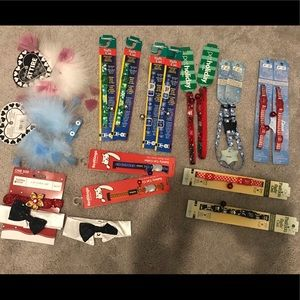 Variety of Cat/Small Dog Collars